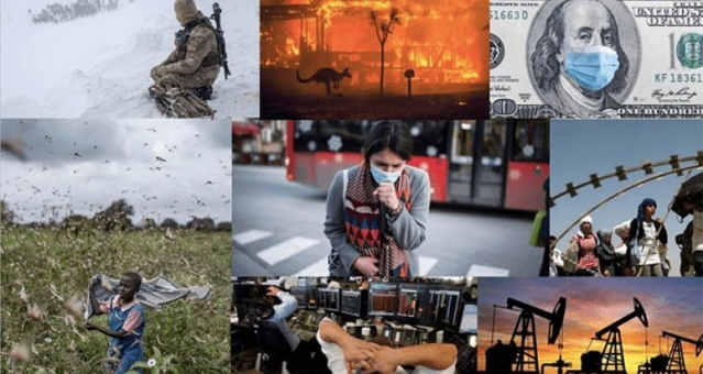 Politik, ekonomik, çevresel ve sosyal açıdan hayli zorlu geçen 2019 yılının ardından tüm dünya 2020'nin sağlık ve huzur dolu bir yıl olması için umutlanırken, yılın ilk gününden bu yana olumsuz gelişmeler peş peşe geldi. Doğal afetlerden savaşlara, ekonomik dalgalanmalardan salgın hastalıklara, yoğun bir gündemle başlayan 2020, yalnızca 75 günde pek çok olumsuz gelişmeye sahne oldu. Online PR Ajansı B2Press, tüm dünya için 'zorlu bir sınav' olarak nitelendirdiği 2020'nin ilk çeyreğini tamamlarken Türkiye ve dünyada yaşanan 10 gelişmeye mercek tuttu.