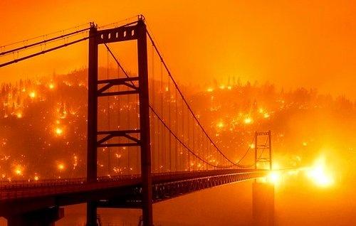 ABD'nin Kaliforniya eyaletinde geçtiğimiz haftadan bu yana yangınlar devam ediyor.