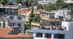 Ayasofya Camii'nde ilk namaza yoğun katılım