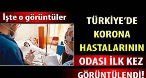 Türkiye'de korona hastalarının odası