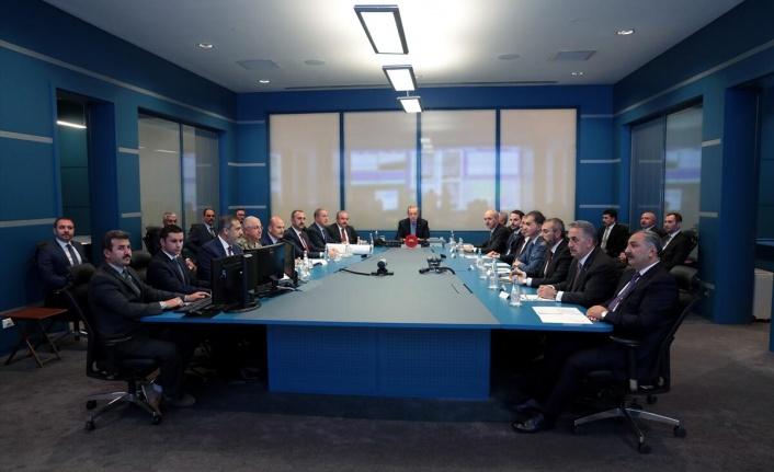 """Cumhurbaşkanı başkanlığında """"Barış Pınarı Harekatı Koordinasyon Toplantısı"""" yapıldı."""