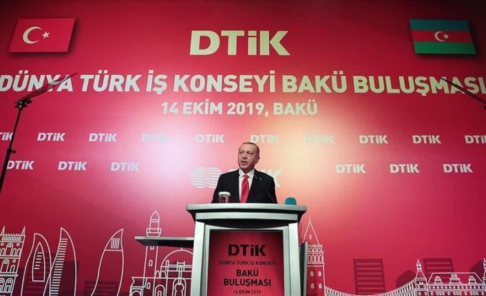 Cumhurbaşkanı Recep Tayyip Erdoğan: Bir kere yükselen bayrak bir daha inmez