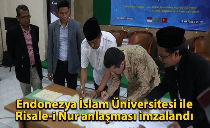 Endonezya İslam Üniversitesi ile Risale-i Nur anlaşması imzalandı