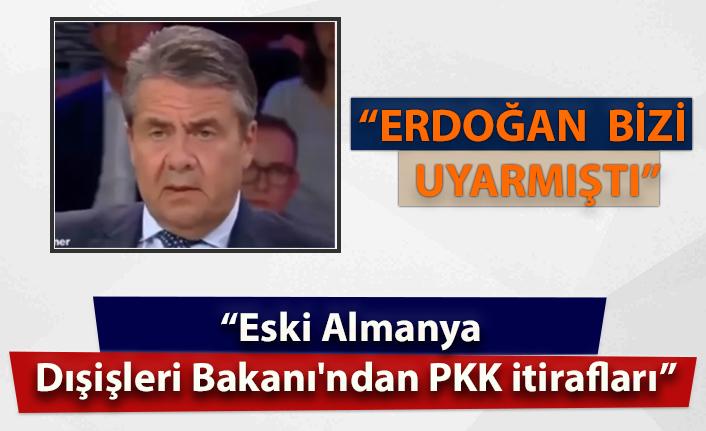 Eski Alman Dışişleri Bakanı Sigmar Gabriel: Erdoğan bizi uyarmıştı!