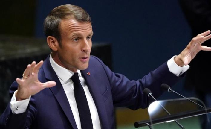 Fransa Cumhurbaşkanı Macron, YPG/PKK'ya desteğini açıkladı