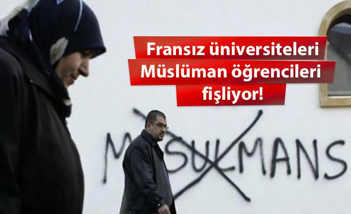 Fransa'da üniversiteler Müslüman öğrencileri fişliyor