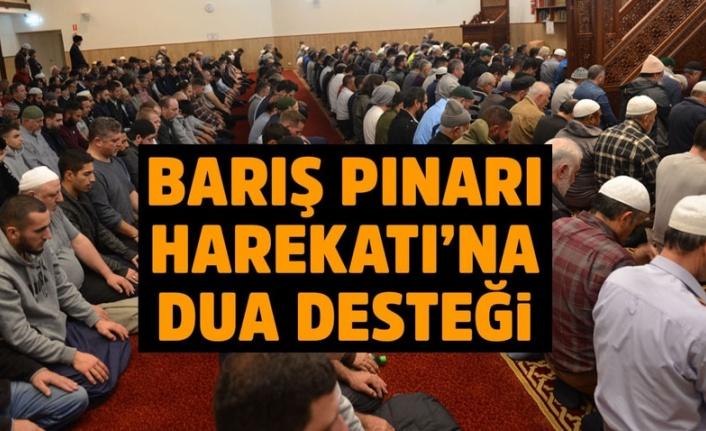 Hacı Bayram Cami'nde Barış Pınarı Harekatı için Fetih Suresi okundu