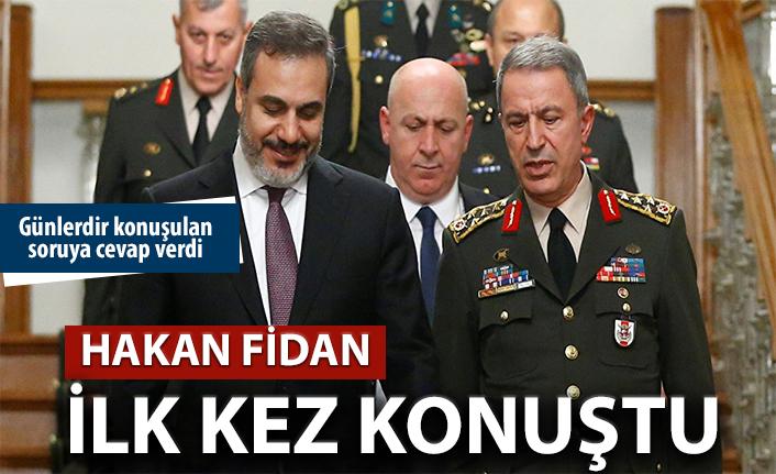 Hakan Fidan, Barış Pınarı Harekatı'yla ilgili ilk kez konuştu