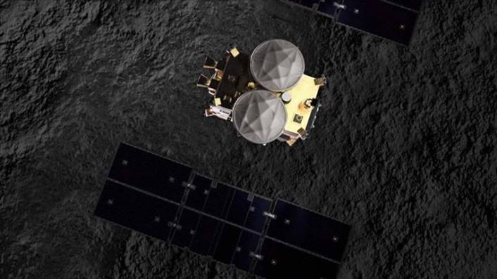 Hayabusa2 son gezginciyi Ryugu asteroidine gönderdi