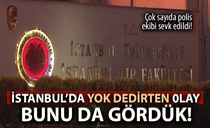 İSTANBUL'DA YOK ARTIK DEDİRTEN OLAY