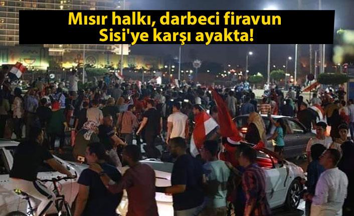 Mısır halkı, darbeci firavun Sisi'ye karşı ayakta!