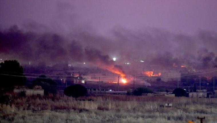 Sınırda yoğun çatışma sesleri! Zormağar'da PKK/ YPG hedefleri yoğun ateş altında