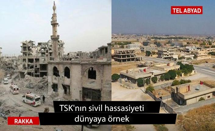 TSK'nın sivil hassasiyeti dünyaya örnek