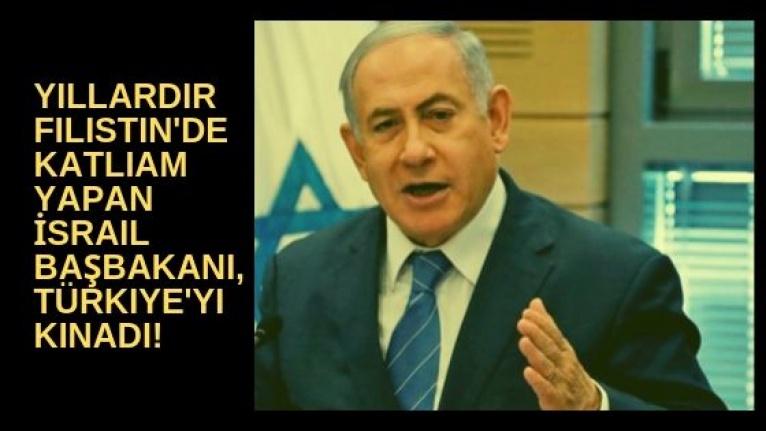 Yıllardır Filistin'de katliam yapan Netanyahu'dan Barış Pınarı Harekatı için skandal açıklama