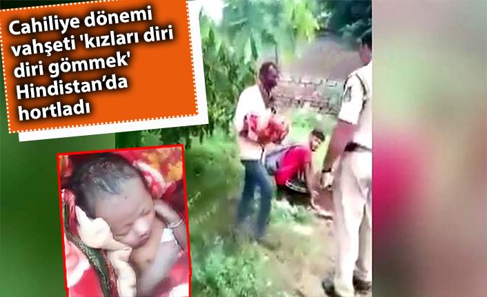 Kan donduran olay! Cahiliye devri vahşeti 'kızları diri diri gömmek' Hindistan'da hortladı