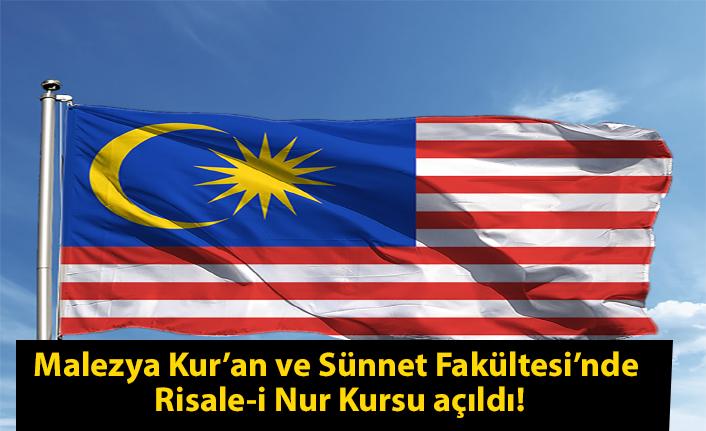 Malezya Kur'an ve Sünnet Fakültesi'nde Risale-i Nur Kursu açıldı!