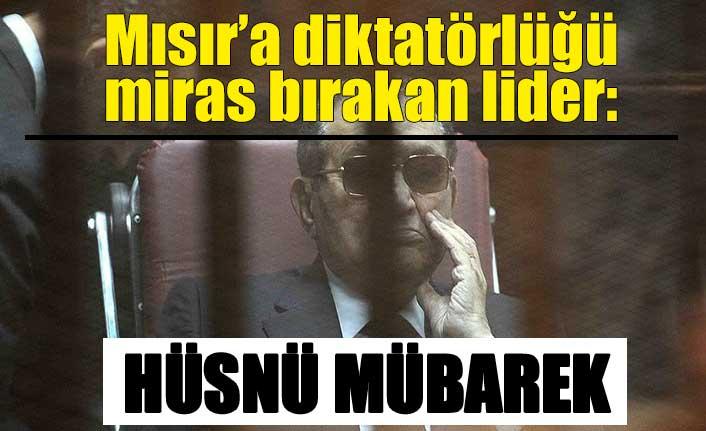 Mısır'a diktatörlüğü miras bırakan lider: Hüsnü Mübarek