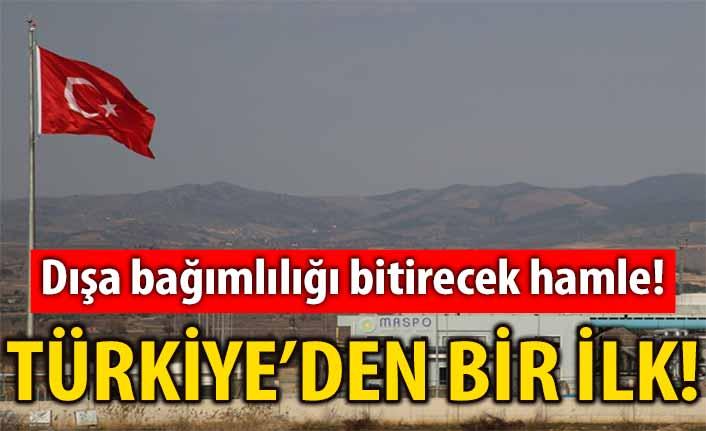 Türkiye'den bir ilk! Dışa bağımlılığı bitirecek