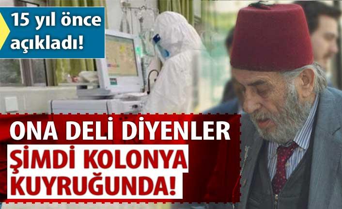 Kadir Mısıroğlu 15 yıl önce koronavirüs uyarısı yapmış!