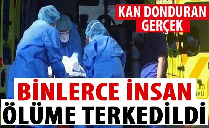 Avrupa ülkesinde kan donduran gerçek