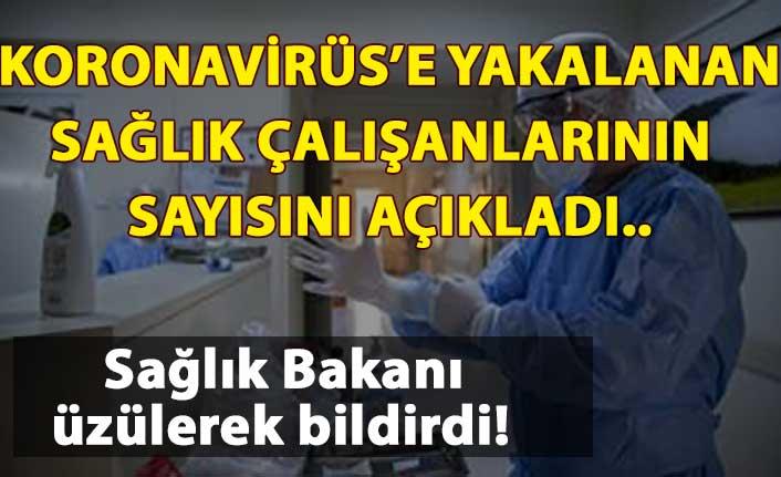 Bakan Koca: Koronavirüs'e yakalanan sağlık çalışanlarının sayısını açıkladı!