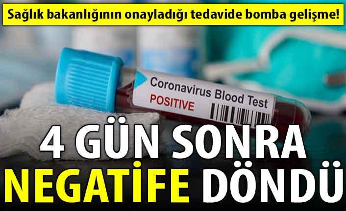 Sağlık Bakanlığı'nın onayladığı tedavide bomba gelişme!