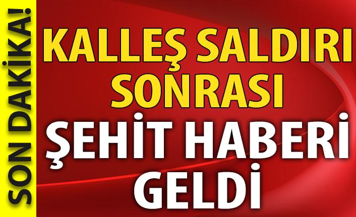 Terör örgütü PKK'dan kalleş saldırı: 1 şehit