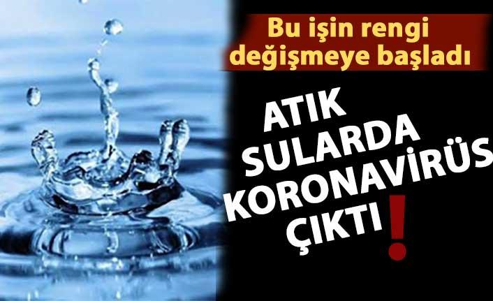 ATIK SULARDA KORONAVİRÜS ÇIKTI!