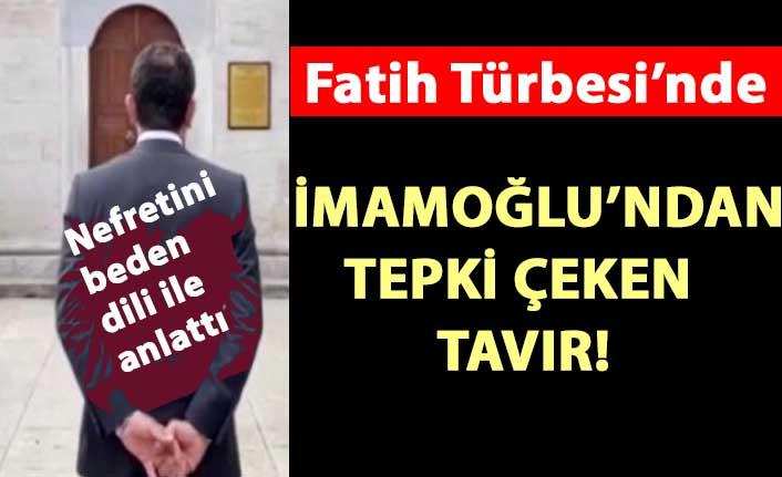 CHP'li imamoğlu'ndan tepki çeken türbe ziyareti!