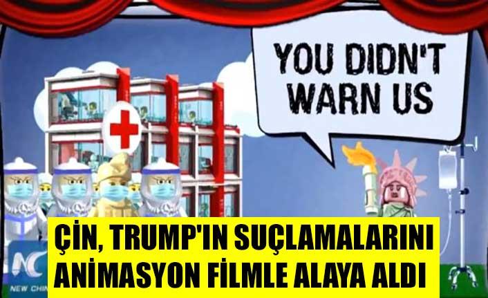 Çin, Trump'ın suçlamalarını animasyon filmle alaya aldı