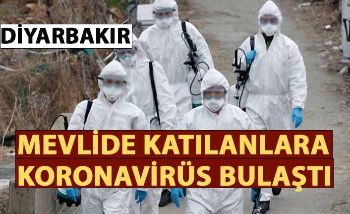 Diyarbakır'da mevlide katılanlara korona virüs bulaştı