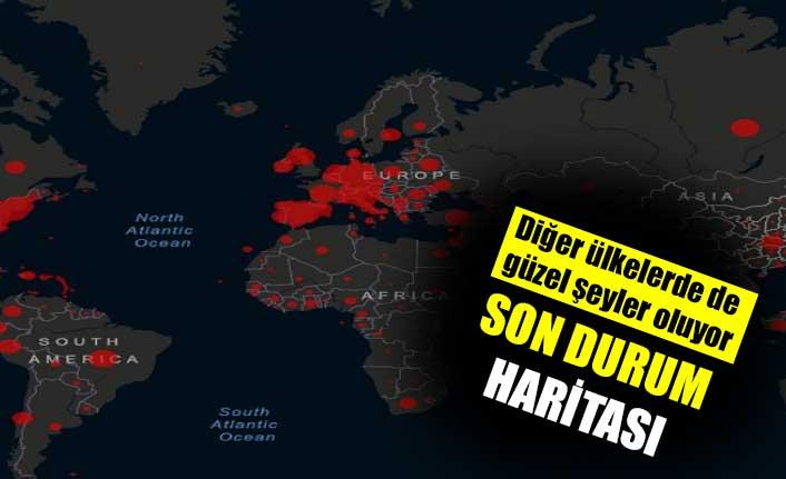 Dünya genelinde korona salgınında son durum