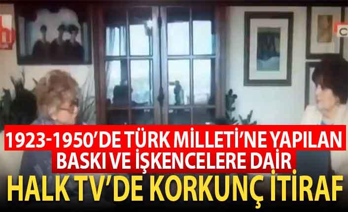 Halk Tv'de korkunç itiraf