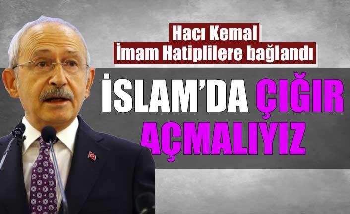 Kemal Kılıçdaroğlu, imam hatiplilerle görüştü