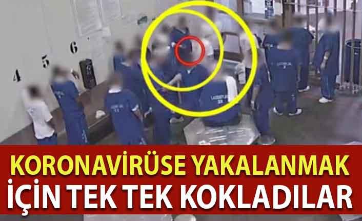 Mahkumlar erken tahliye olabilmek için sırayla maske koklayıp koronavirüse yakalandı