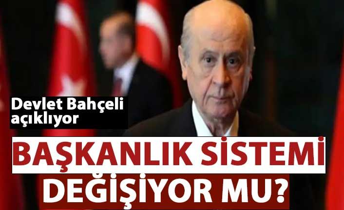 MHP Genel Başkanı Bahçeli: Başkanlık sistemini devam ettirecek reformlar acilen yapılmalı
