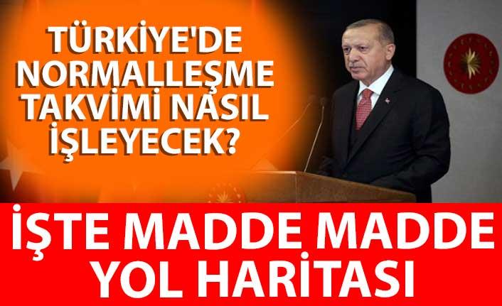 Türkiye'de normalleşme takvimi nasıl işleyecek? İşte madde madde yol haritası