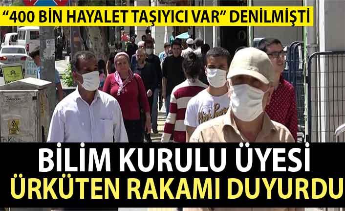 'Türkiye'de 400 bin hayalet taşıyıcı var' denilmişti! Bilim Kurulu üyesi o rakamı açıkladı