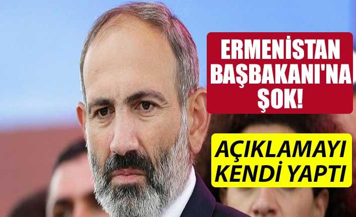 Ermenistan Başbakanı'na şok! Açıklamayı kendi yaptı