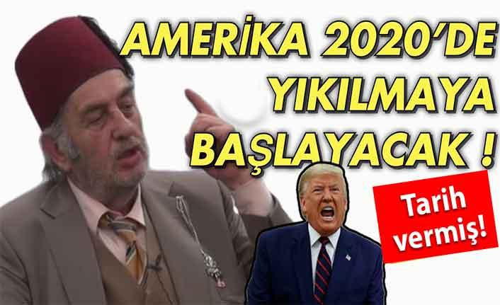 Merhum Kadir Mısıroğlu, ABD'nin yıkılış tarihini vermiş!