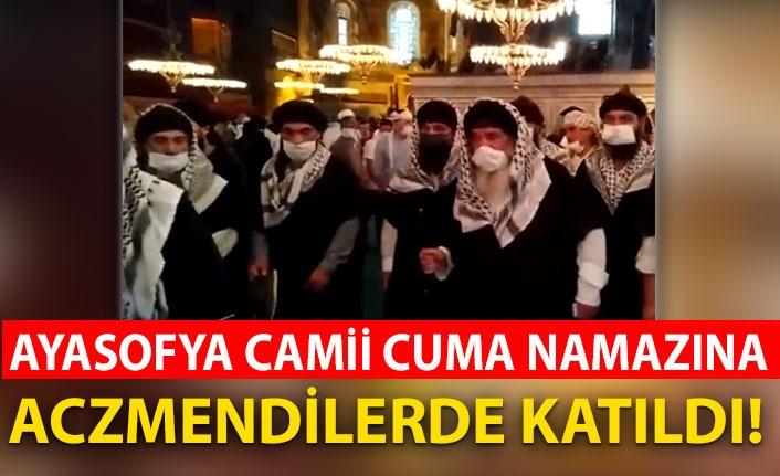 Aczmendiler de Ayasofya Camii açılışına katıldı