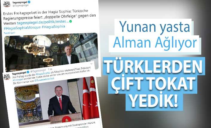 Alman gazetesi: Türkiye'den Batı'ya çift tokat