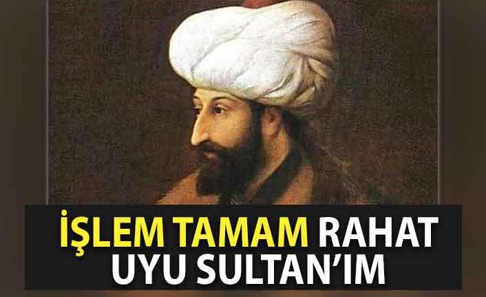 Cumhurbaşkanı Erdoğan namazdan sonra Fatih'in türbesinde