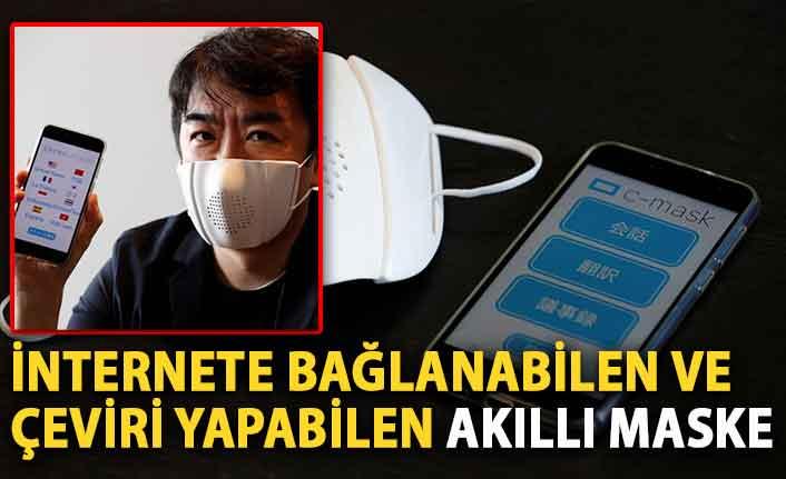 İnternete bağlanabilen ve çeviri yapabilen akıllı maske