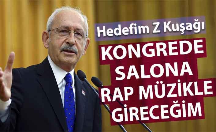 Kılıçdaroğlu Z kuşağını rap müzikle etkilemeyi hedefliyor