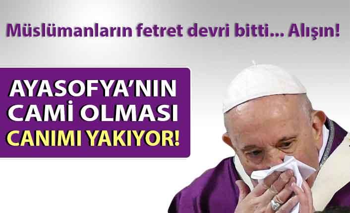 Papa, Ayasofya kararından dolayı mutsuz