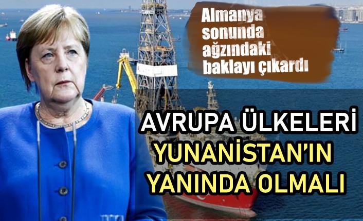 Almanya Başbakanı Angela Merkel: AB, Yunanistan'ı desteklemeli