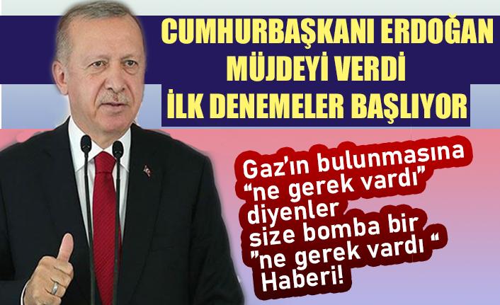 Cumhurbaşkanı Erdoğan: Sıvı yakıtlı roket motoru teknolojisinin ilk uzay denemelerine başlayacağız