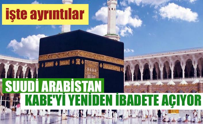 Suudi Arabistan, Kabe'yi yeniden ibadete açabilir