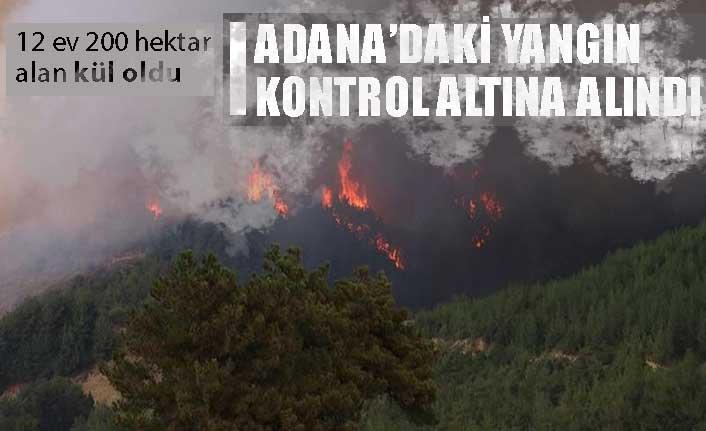 Tarım ve Orman Bakanı Bekir Pakdemirli: Yangın kasıtlı çıkarılmış olabilir